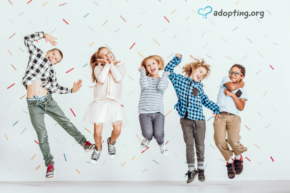At any given time, there are thousands of kids for adoption in the United States. Join that with the thousands of kids for adoption globally...