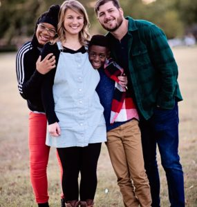 Being an adoptive family mostly means that we wake up each day, and we choose to love one another no matter what. We are in this family, no matter how...