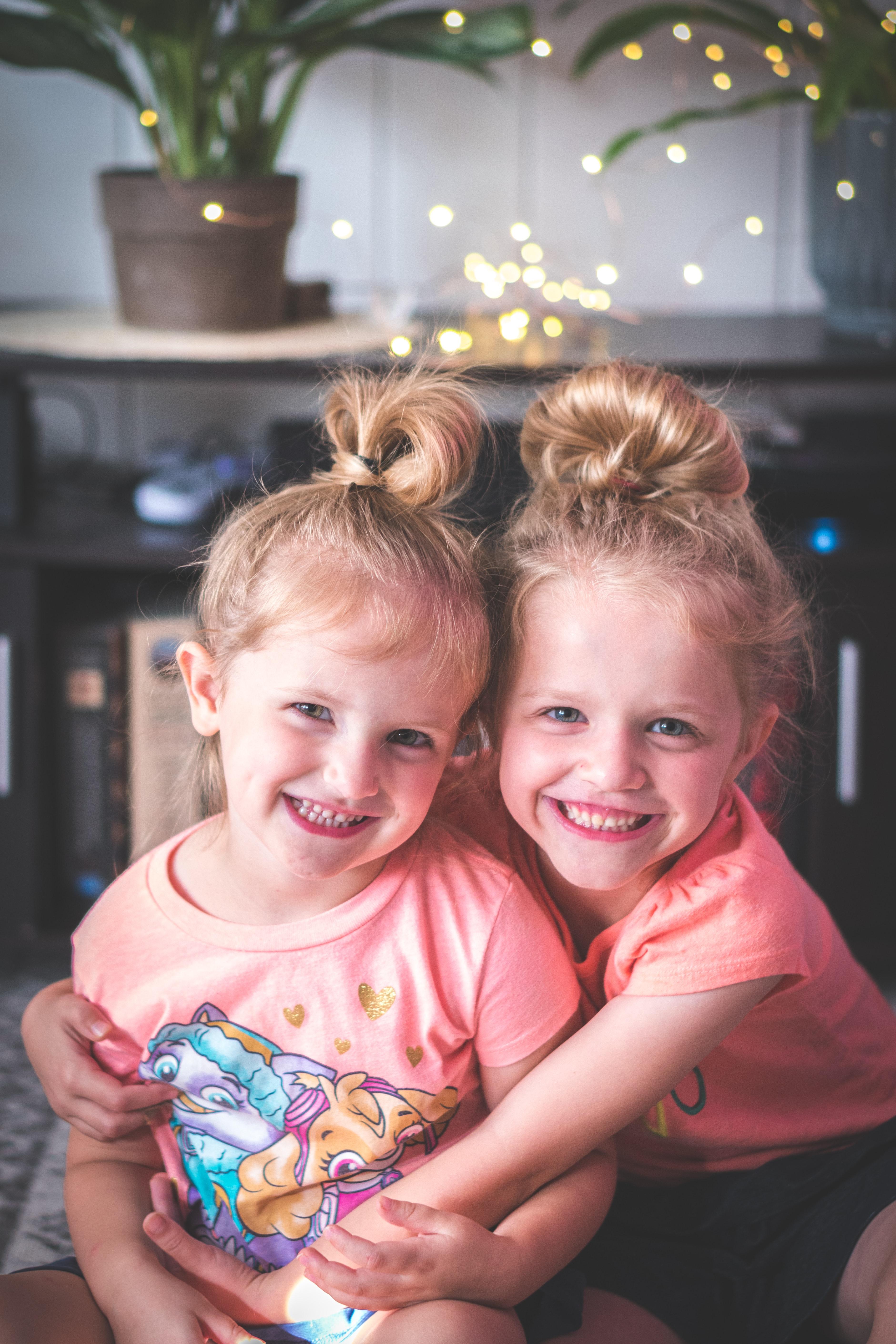 smiling little girls