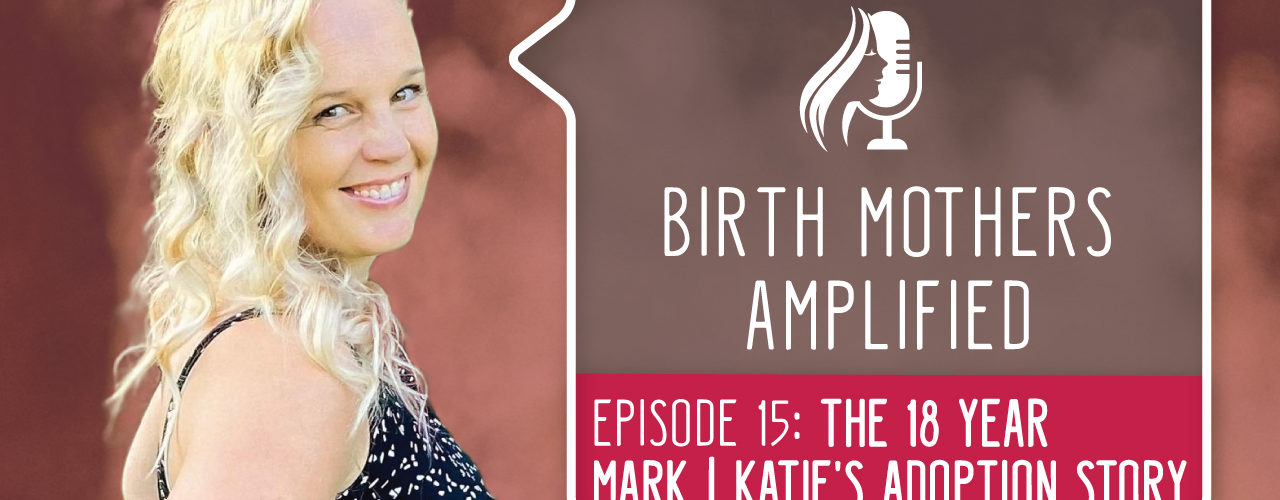 In episode 15 of Birth Mothers Amplified, we meet Katie. Katie was 16 when she learned she was pregnant. Adoption wasn't her first choice.